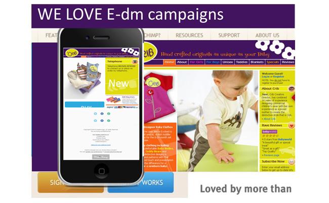 E-dm campaigns