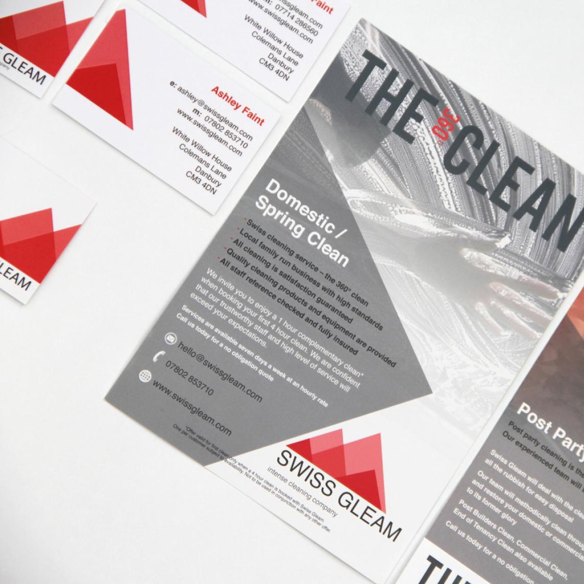 Swiss Gleam Flyer